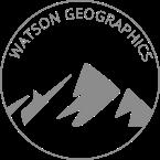 WatsonGeo Mountain Logo (Badge)